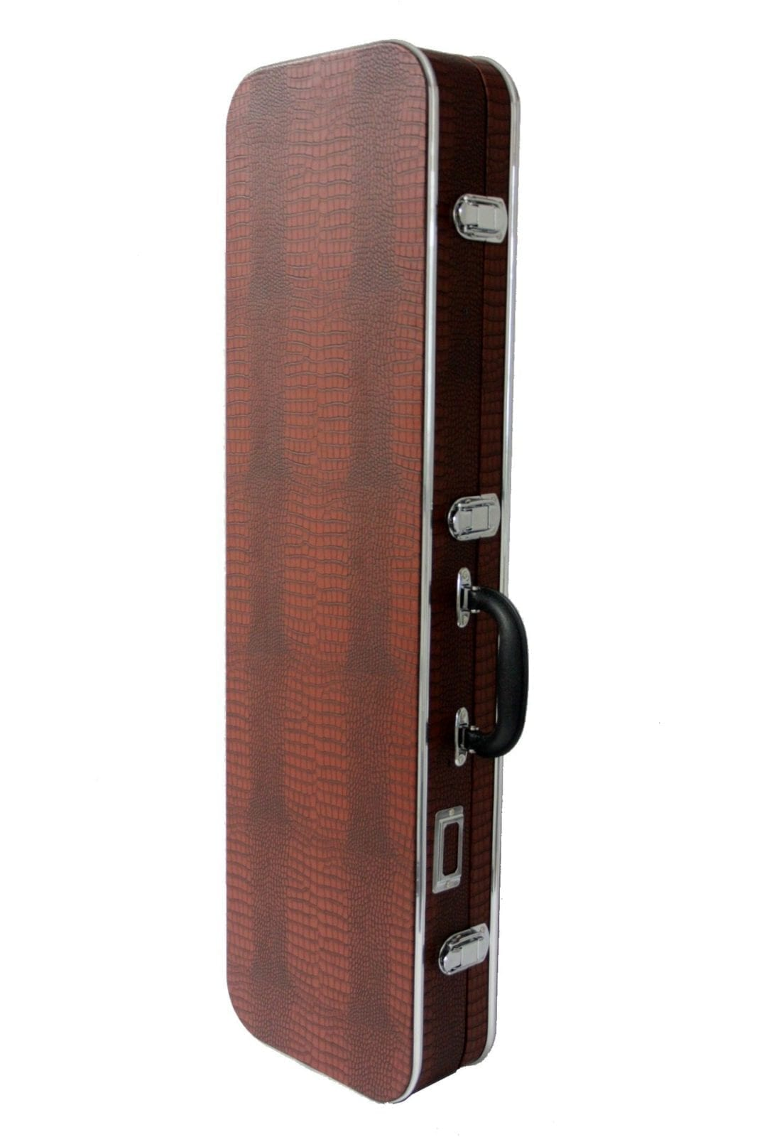 Sanshin hard case - Crocodile pattern / Brown